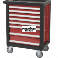 DELUXE TOOL TROLLEY 8 DRAWER