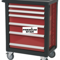 DELUXE TOOL TROLLEY 6 DRAWER